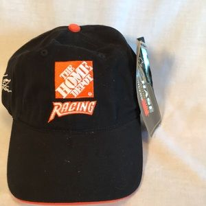 NWT Chase Authentics blk Home Depot racing cap